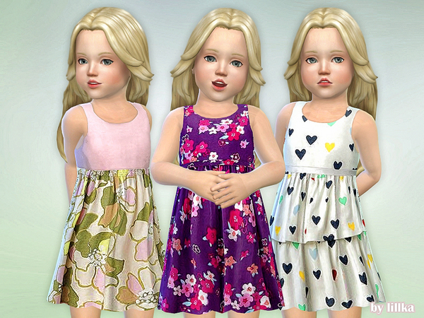Toddler Dresses Collection P74 by lillka