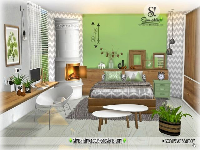 ScandiFever Bedroom by SIMcredible