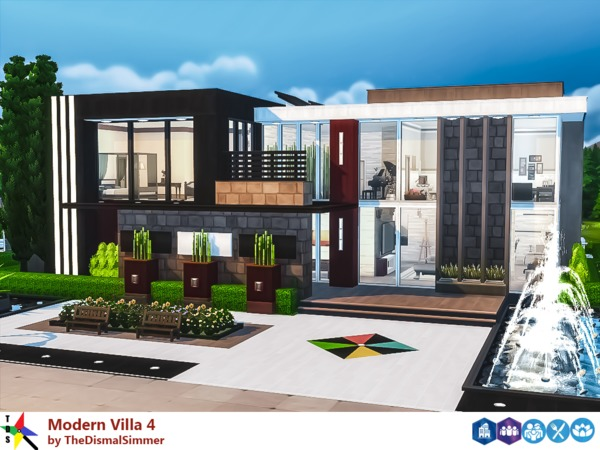 Modern Villa 4 by TheDismalSimmer