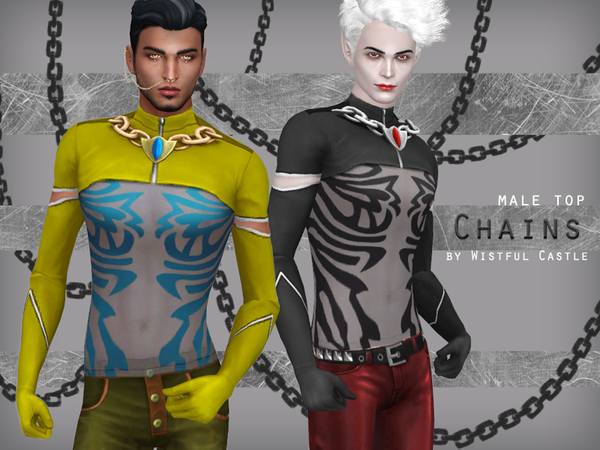 Chains - male top by WistfulCastle