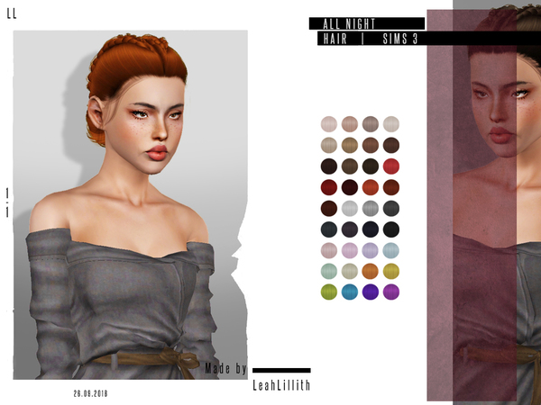 LeahLillith All Night Hair by Leah Lillith