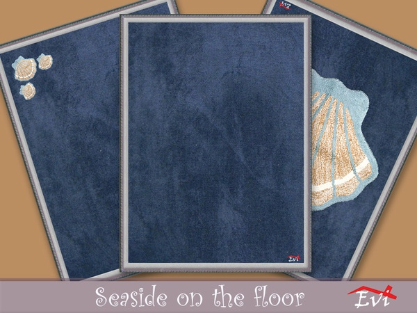 Seaside on the floor by evi