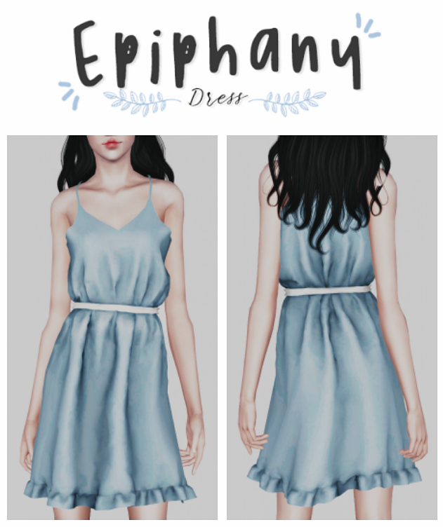 Epiphany Dress by Plbsims