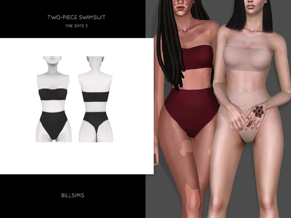 Two-Piece Swimsuit by Bill Sims
