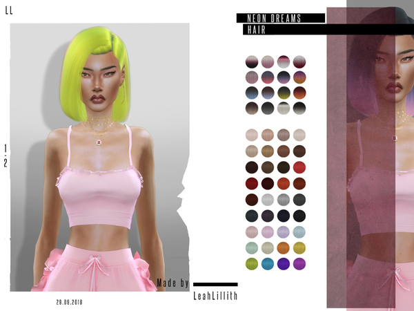 LeahLillith Neon Dreams Hair by Leah Lillith