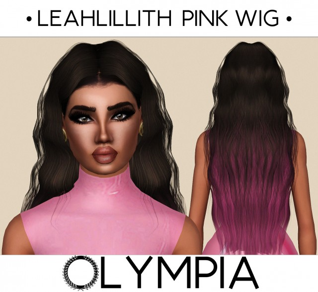 LeahLillith Pink Wig by OLYMPIA