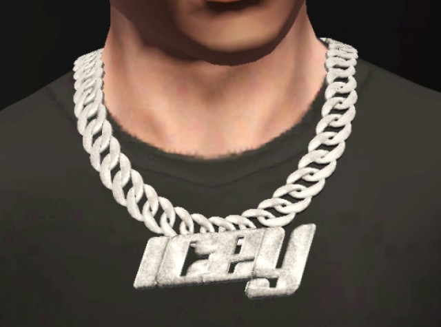 """ICEY"" Cuban Link Chain By GuttaSims"