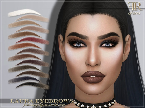 FRS Laura Eyebrows by FashionRoyaltySims