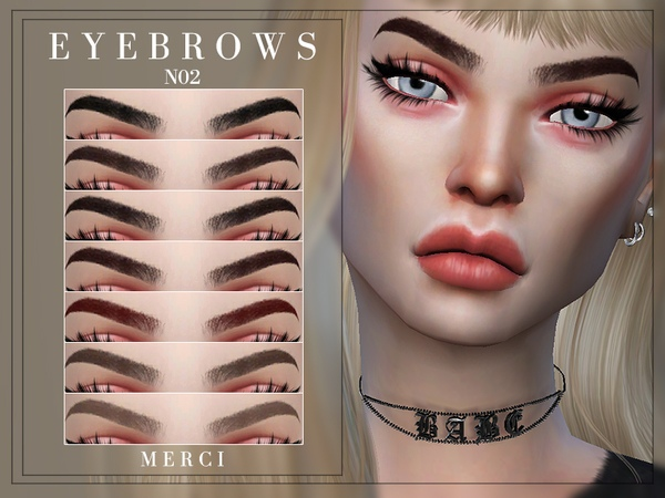 Eyebrows N02 by -Merci-