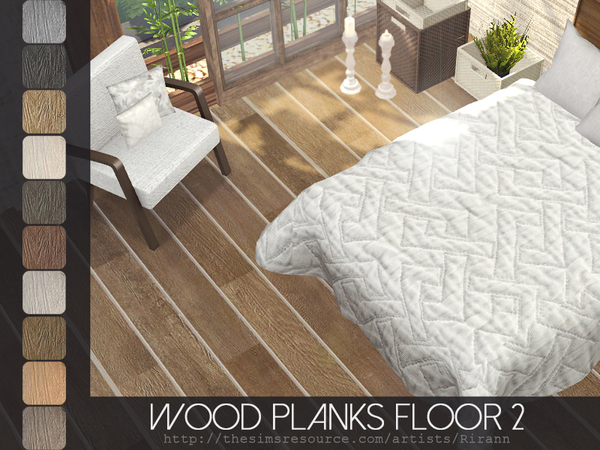 Wood Planks Floor 2 by Rirann