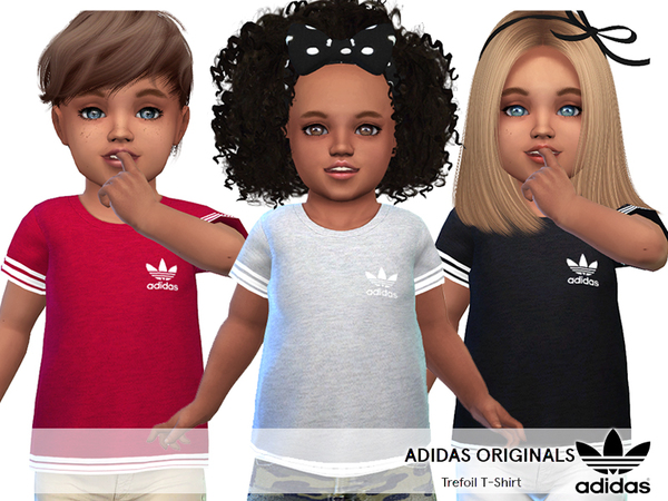 Adidas Originals Tees For Toddlers by Pinkzombiecupcakes
