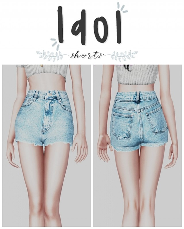 Idol Shorts by plbsims