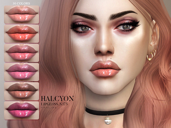 Halcyon Lipgloss N175 by Pralinesims