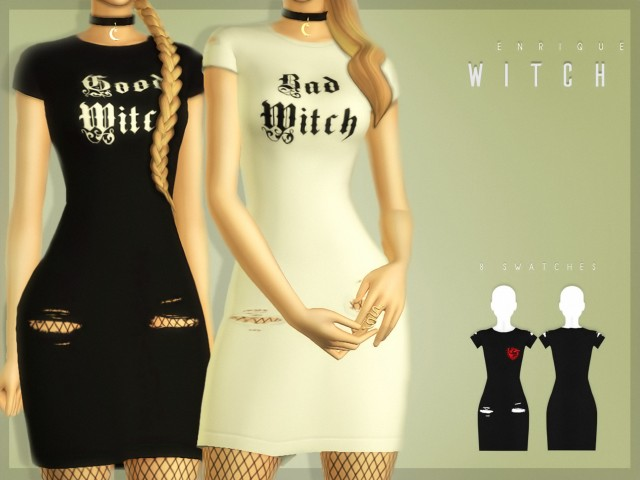 G&W Witch Dress by Enrique