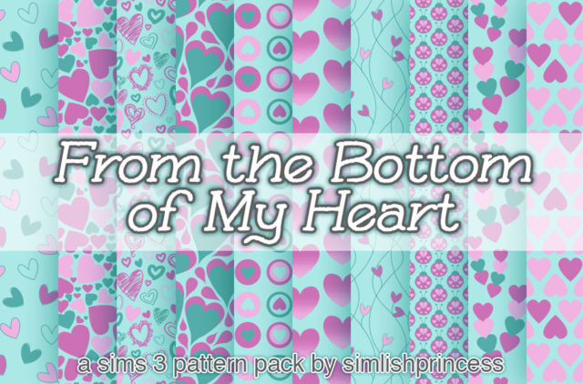 From the Bottom of My Heart by simlishprincess