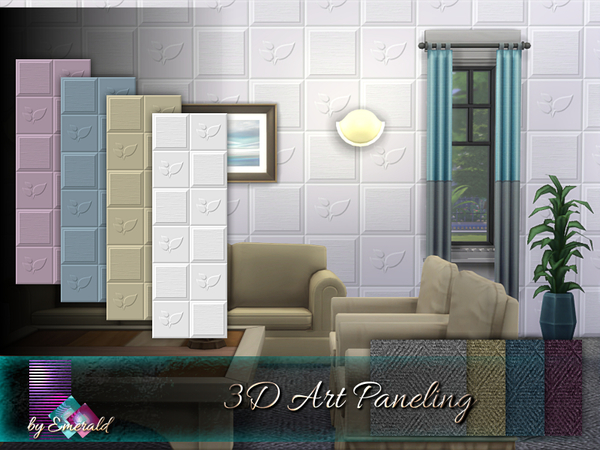 3D Art Paneling by emerald
