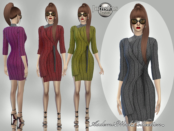 asdemi wool dress 5 by jomsims