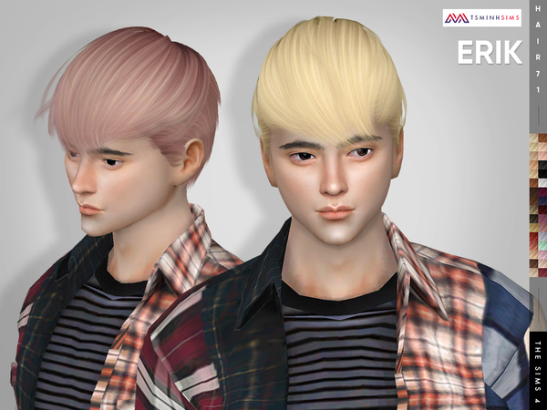 Erik ( Hair 71 ) by TsminhSims