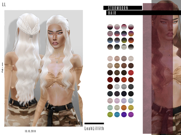 LeahLillith Stormborn Hair by Leah Lillith