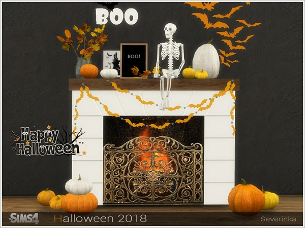 Halloween 2018 decorative set by Severinka