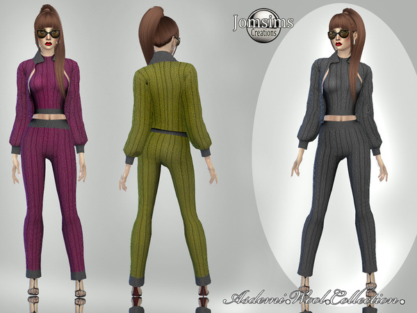 asdemi wool outfit 2 by jomsims