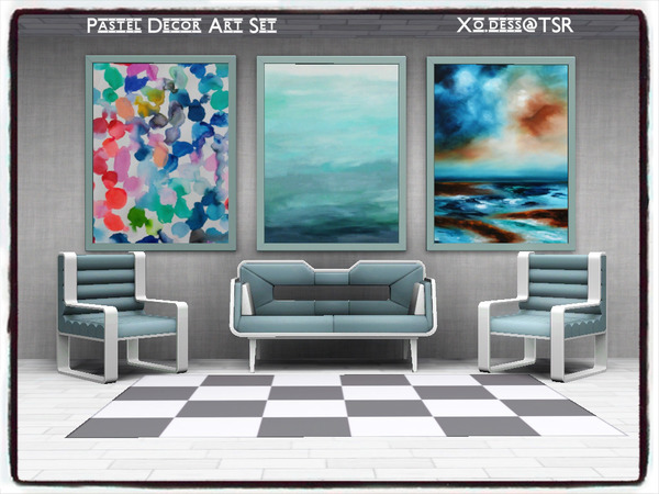 Dess_Pastel Decor. ART SET by Xo.dess