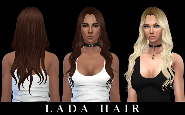 Lada Hair by Leo-Sims