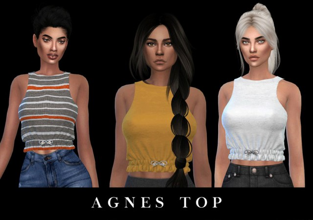 Agnes Top by Leo-Sims