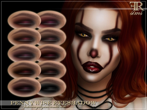 FRS Pennywise Eyeshadow by FashionRoyaltySims