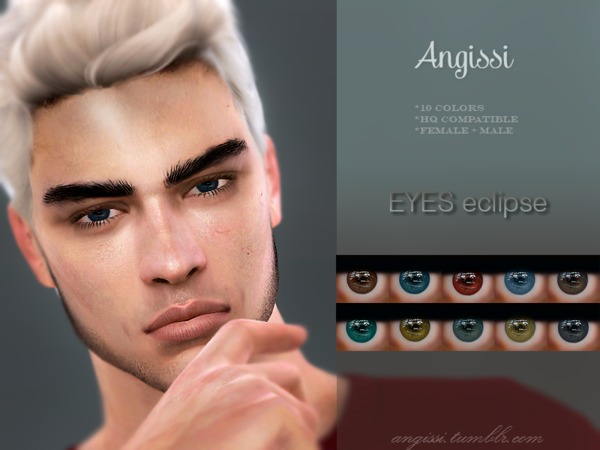 EYES eclipse by ANGISSI