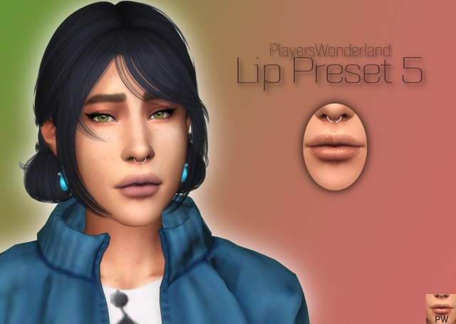 Lip Preset 05 by PlayersWonderland