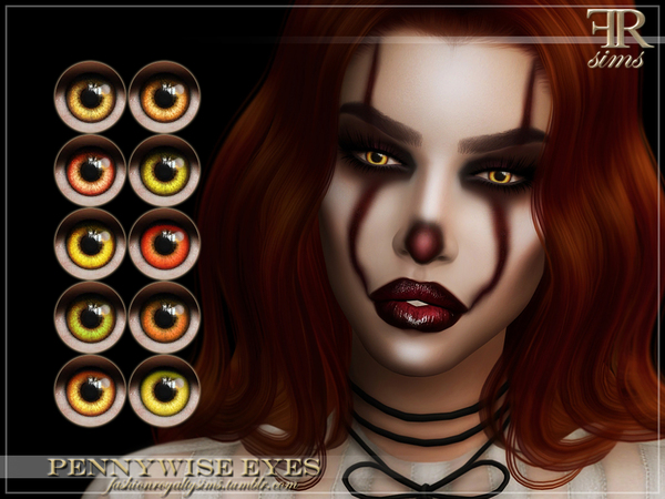 FRS Pennywise Eyes by FashionRoyaltySims