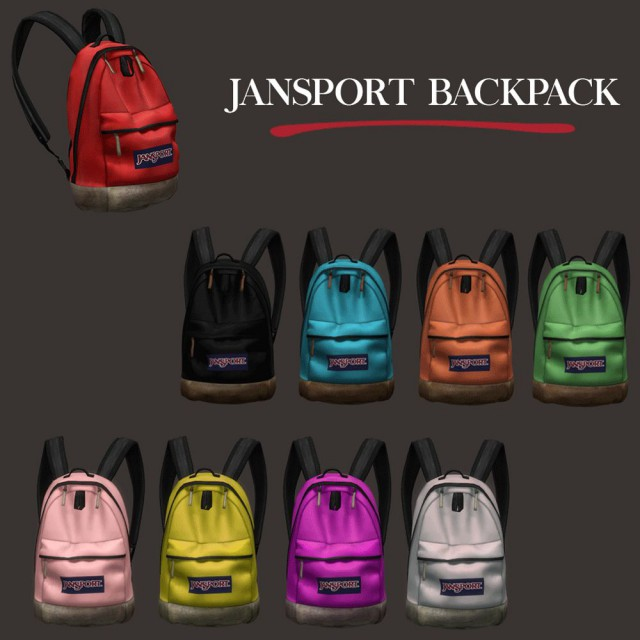 Jansport Backpack by Leo-Sims