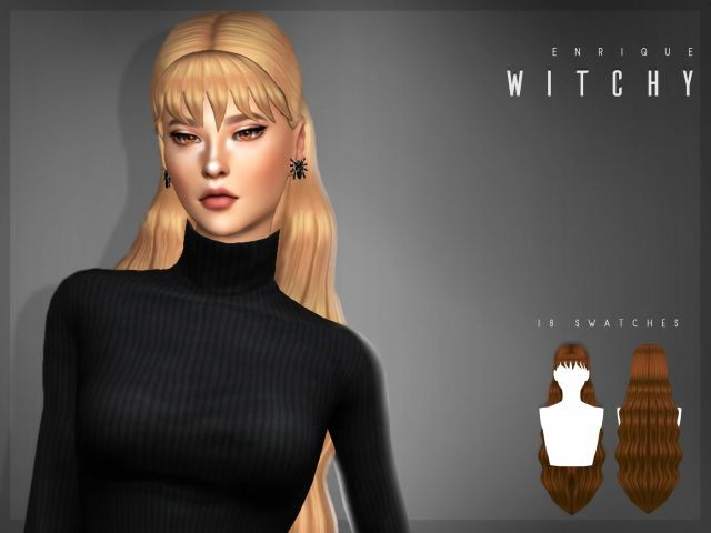 Witchy Hair by Enrique