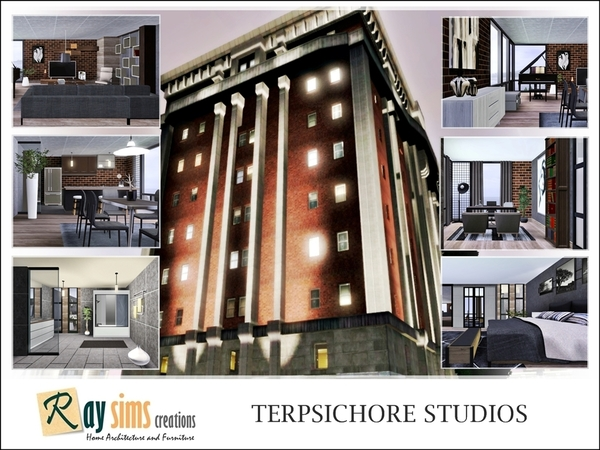Terpsichore Studios by Ray_Sims