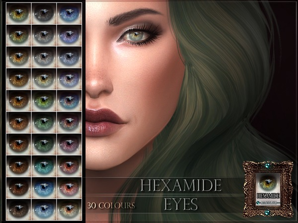 Hexamide Eyes by RemusSirion
