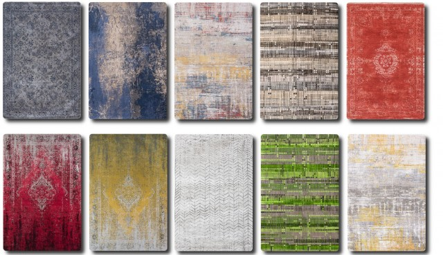 Louid de Poortere Rug Collection by TaTschu