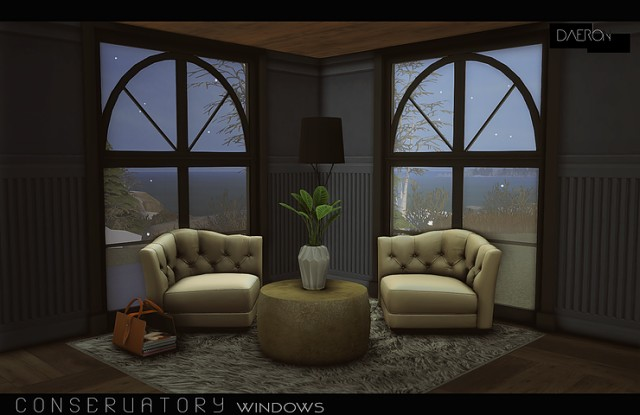 Conservatory Windows by daer0n