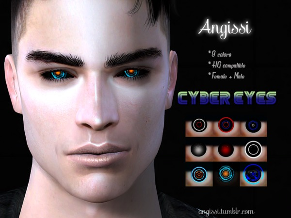 Cyber Eyes by ANGISSI