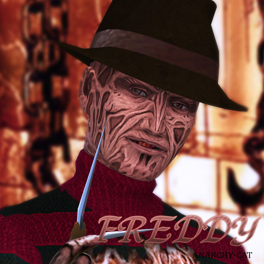 Freddy Krueger by Anarchy-Cat