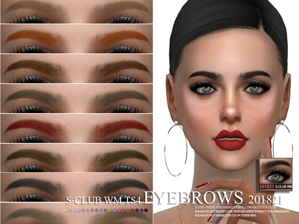 S-Club WM ts4 Eyebrows 201821