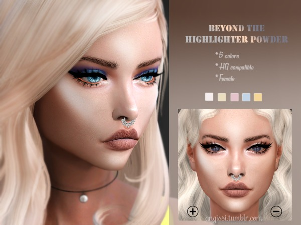 BEYOND THE HIGHLIGHTER POWDER by ANGISSI