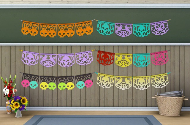 TS4 Tetraptych Wall Hanging by Butterbot