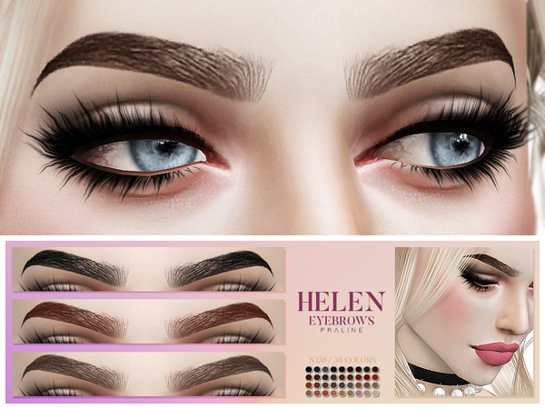 Helen Eyebrows N138 by Pralinesims