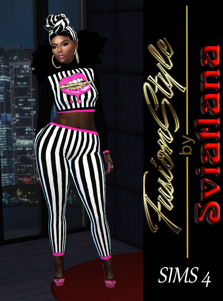 Top & Leggings - FusionStyle by Svialtana