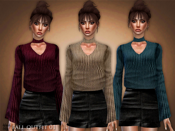 Fall Outfit 01 by Black Lily