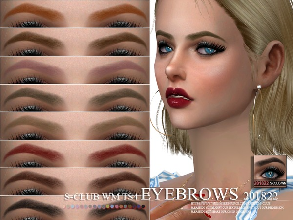 S-Club WM ts4 Eyebrows 201822