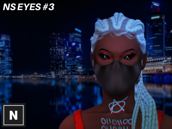 NS Eyes #3 - X by networksims