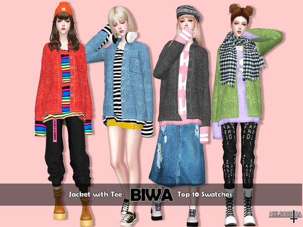 BIWA - Jacket with Tee by Helsoseira