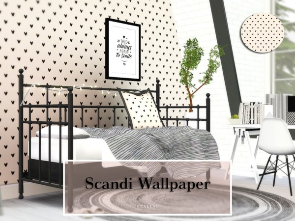 Scandi Wallpaper by Pralinesims